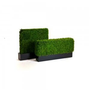 Deluxe Artificial boxwood hedge