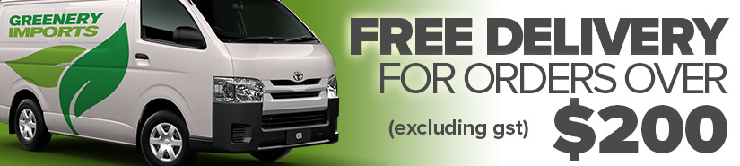 FREE DELIVERY FOR ORDERS OVER $200 (EX GST)*