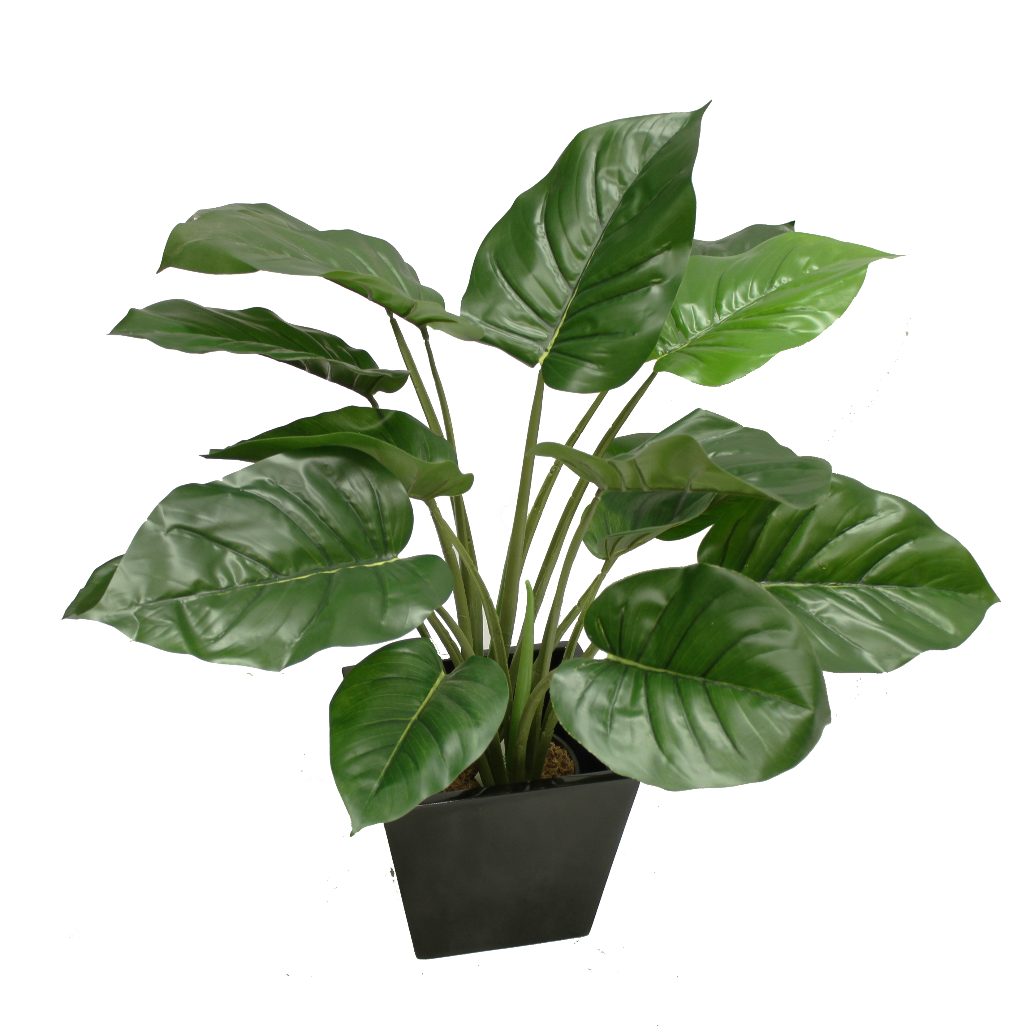 ARTIFICIAL POTHOS POTHOS PLANT 60CM WITH FIBREGLASS POT