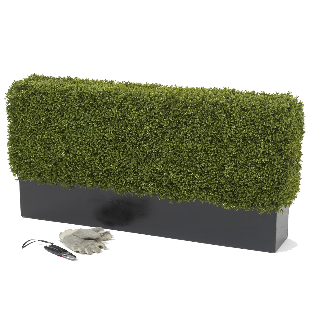 Premium deluxe Artificial boxwood hedge