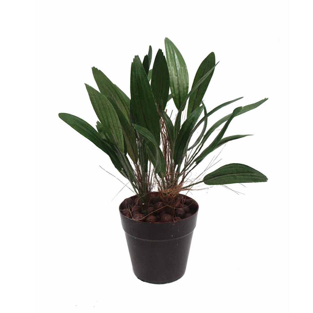 ARTIFICIAL RAPHIS PALM 28CM