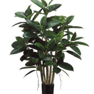 Artificial rubber tree 1m
